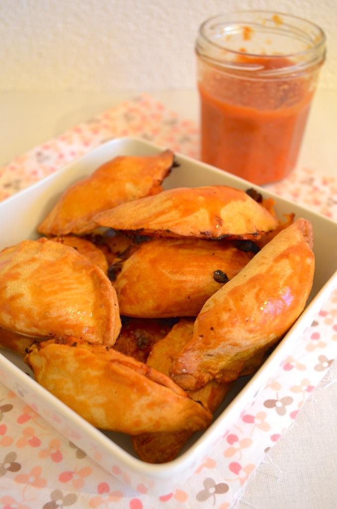 empanada's met gehakt