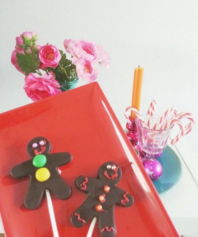 kerst chocola